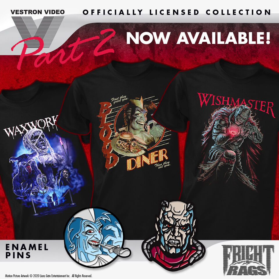 Fright-Rags Vestron Video Apparel