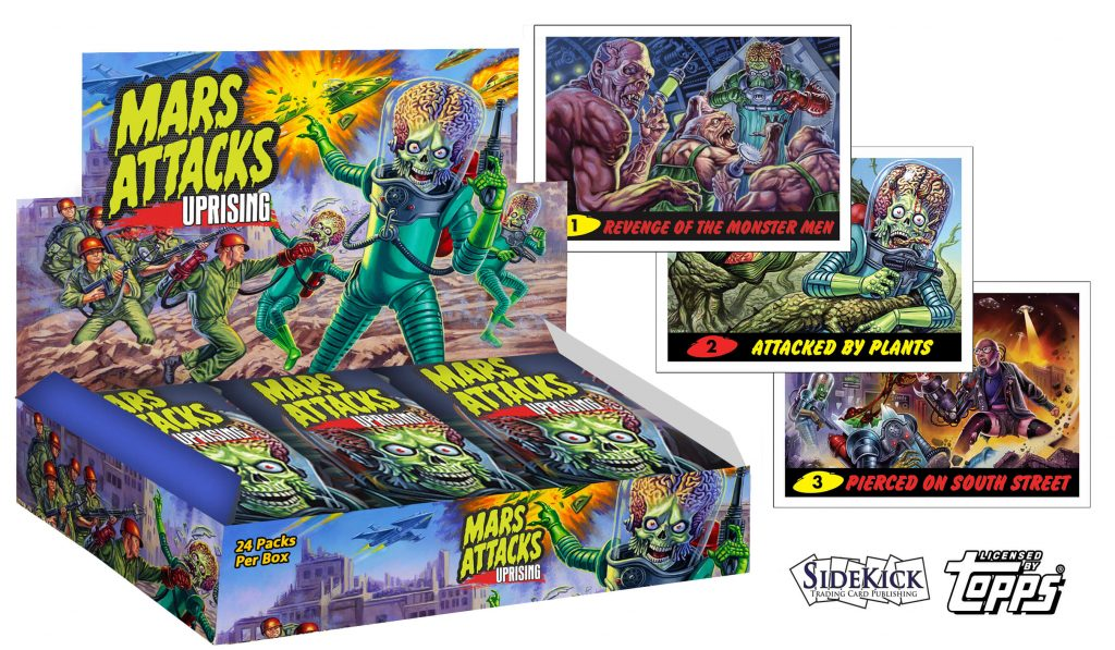 Mars Attacks: Uprising Kickstarter