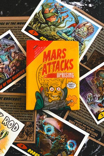 Mars Attacks: Uprising from Topps & SideKick Lab