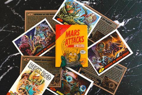 Mars Attacks: Uprising from Topps & SideKick Lab